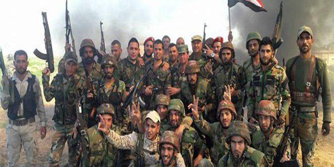 ✌️Syrie :L'armée mène une opération commando au-delà des lignes de ''Daech'' entre Raqqa et Homs