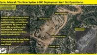 Une nouvelle image satellite révèle l'emplacement d'un système S-300 en Syrie